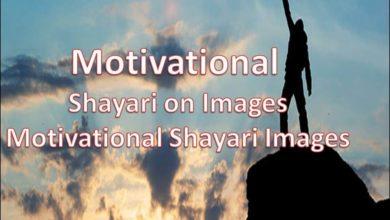 Photo of Motivational Shayari on Images || Motivational Shayari Images