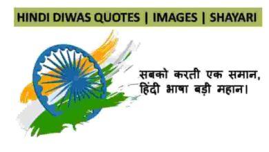 Photo of Hindi Diwas Quotes | Images | Shayari